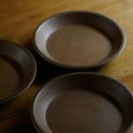 切立石皿(錫・白)